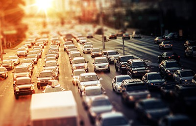 Highway Traffic at Sunset | The Top 10 Deadliest Driving Habits