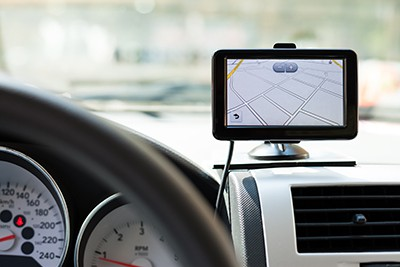 GPS navigation system in a traveling car | GPS Related Car Accidents