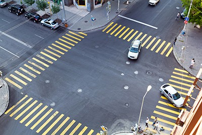 busy traffic intersection | Intersection Accidents Can Be Deadly