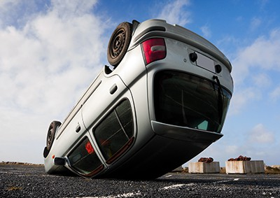 car turned upside-down | Northglenn Rollover Accident Lawyers