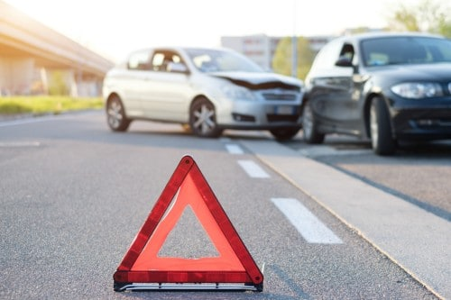 two automobiles collided | Colorado road safety law