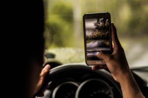 Using a Smartphone While Driving, Not So Smart - Hull and Zimmerman