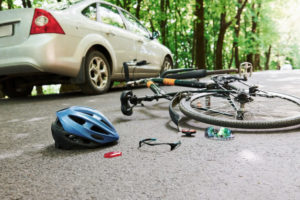 Bicycle on motor vehicle accident - Hull and Zimmerman